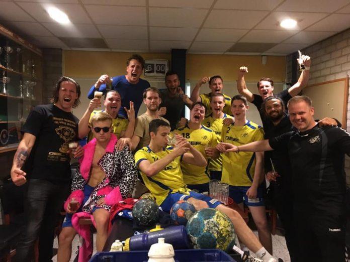 Eerste Eredivisiezege Aristos Amsterdam