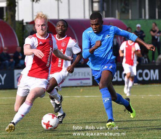 Weer geen winst Ajax amateurs in derde divisie