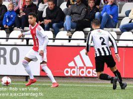Puntendeling voor de amateurs van Ajax
