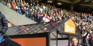 Sfeerfoto's van Ajax tegen Feyenoord