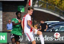 Opluchting bij Ajax Amateurs na eerste overwinning