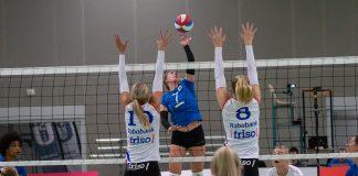 Volleybalsters US Amsterdam maatje te klein voor VC Sneek