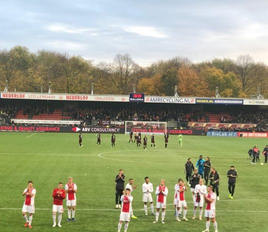 In beeld: Excelsior vs A.F.C. Ajax