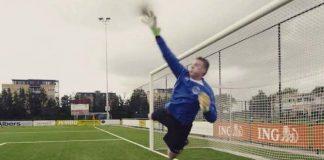 Doelman René de Jong voorkomt nederlaag Ouderkerk tegen Martinus