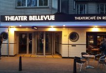 Een witte heteroseksuele man in Theater Bellevue