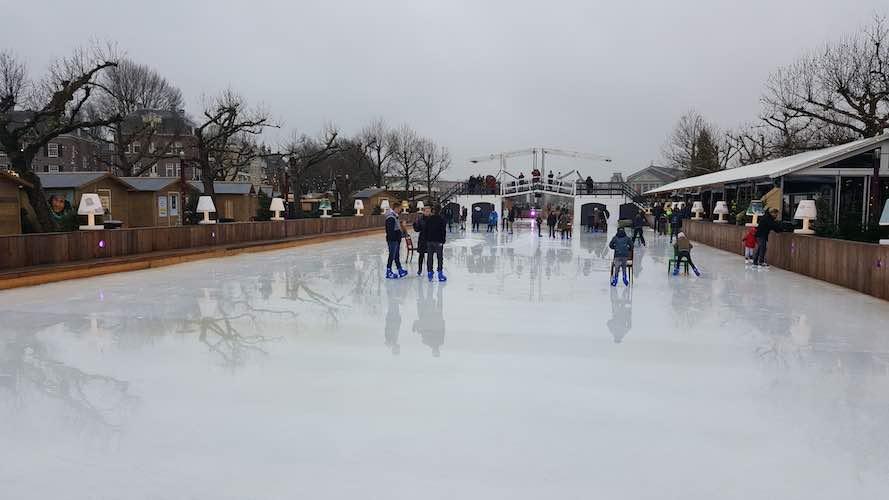 Museumplein Kerstmarkt Ice Village 2e Kerstdag Vrije Tijd