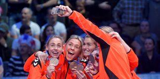 Maura Visser neemt afscheid in stijl met bronzen plak tijdens het EK