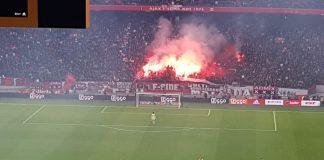 Ajax stewards gelikt het nieuwe jaar in