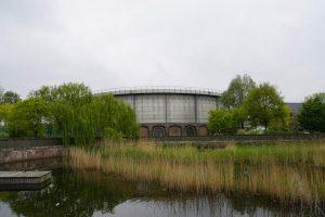 Westergasfabriek - Rollen in de Gashouder