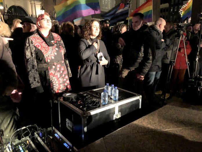 Mooie woorden van Femke Halsema tijdens 'Viering van de Liefde'