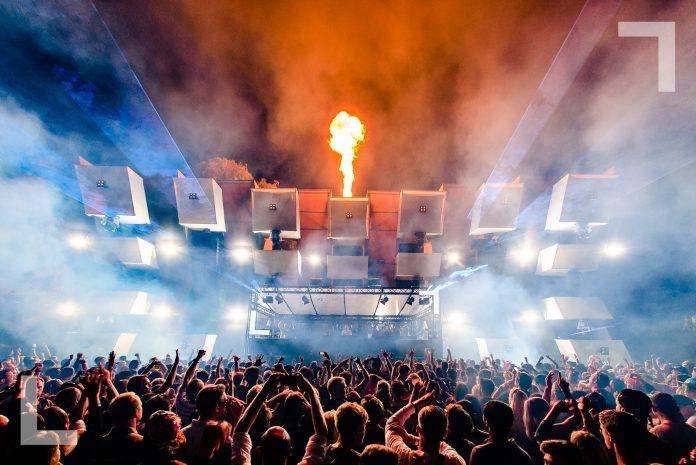 Koningsdag 2019 in Amsterdam - Loveland van Oranje Festival