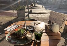 Café Sarphaat: een plekje waar je lekker kunt lunchen