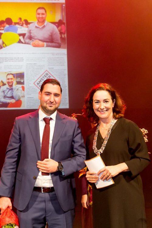 Abdelhamid Idrissi verkozen tot Amsterdammer van het Jaar 2018
