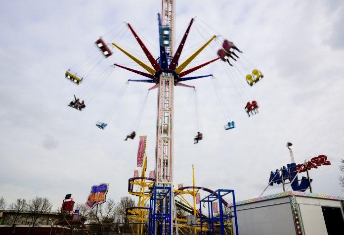 Westerpark Amsterdam bijna weer het decor van gezellige kermis