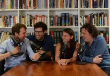 PODCASTFENOMEEN NO SUCH THING AS A FISH NAAR AMSTERDAM EN GRONINGEN