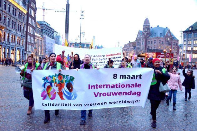 INTERNATIONALE VROUWENDAG 8 MAART 2020 IN AMSTERDAM