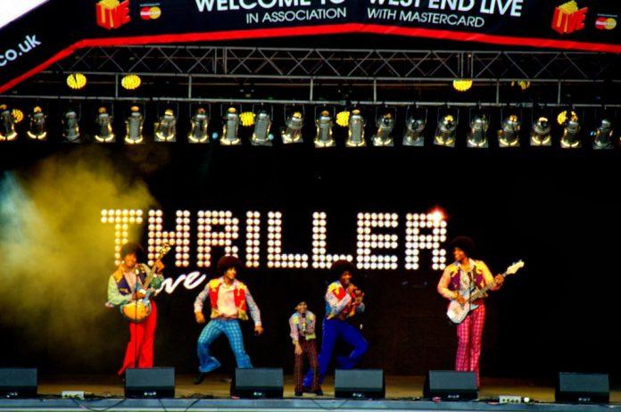 THRILLER LIVE terug naar Nederland met drie exclusieve shows