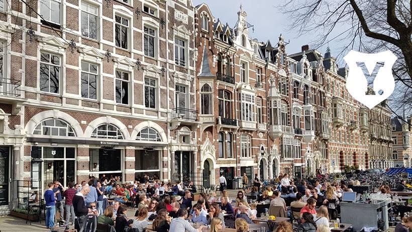 18 x gezellige en leuke terrassen in Amsterdam en omstreken