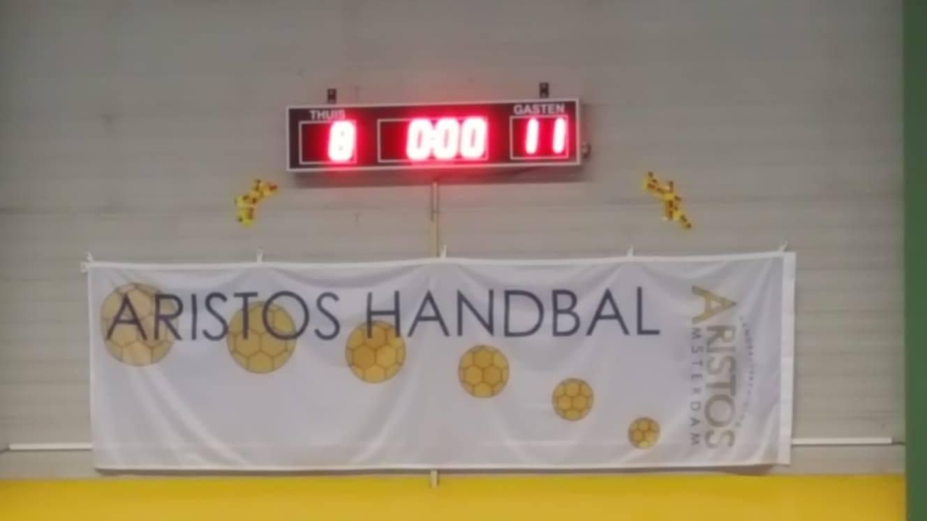 Aristos Amsterdam traditiegetrouw winnaar tijdens play-offs