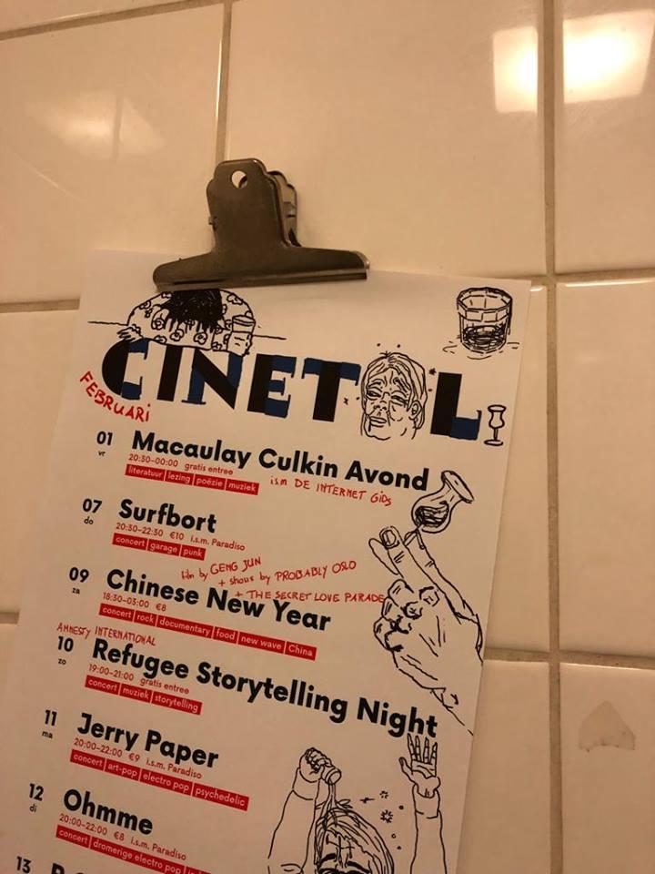 Cinetol: van een literaire Macaulay Culkin tot Chinese post-punk in nostalgische buurthuissfeer
