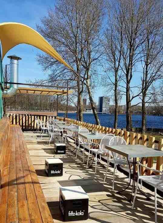Locaties in Amsterdam: Hotel Buiten