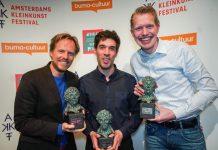 Jan Beuving, Tom Dicke en Patrick Nederkoorn winnaars M.G. SchmidtprijsJan Beuving, Tom Dicke en Patrick Nederkoorn winnaars M.G. Schmidtprijs
