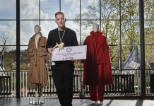 Erik Frenken ontvangt het negende Cultuurfonds Mode Stipendium
