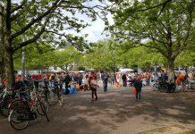 Koningsdag 2019: Lekker sfeertje op Amstelveld