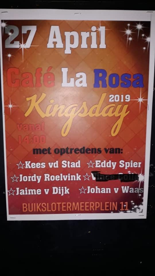 Koningsdag 2019 in Amsterdam (en Koningsnacht)