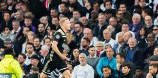 Ajax met één been in finale na 0-1 tegen Tottenham