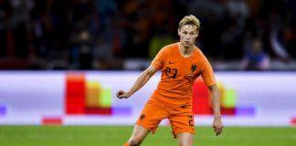 """Frenkie de Jong: """"ik zou mezelf nooit vergelijken met Cruijff"""""""