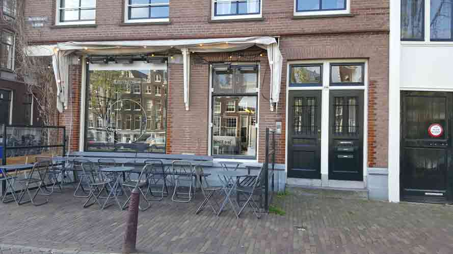 Locatie in Amsterdam: Restaurant Buffet van Odette