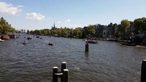 Weesperzijde in Amsterdam-Oost