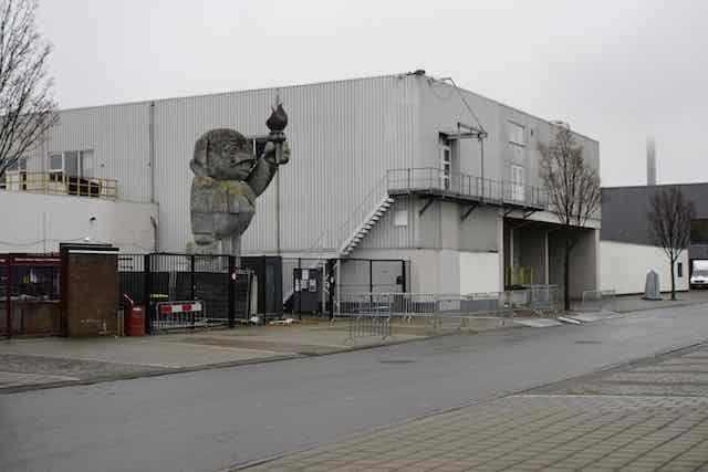 Dance locatie: Warehouse Elementstraat