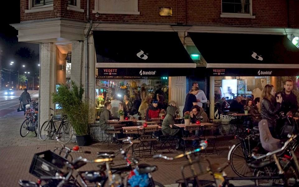 Brandstof - terras in Amsterdam West