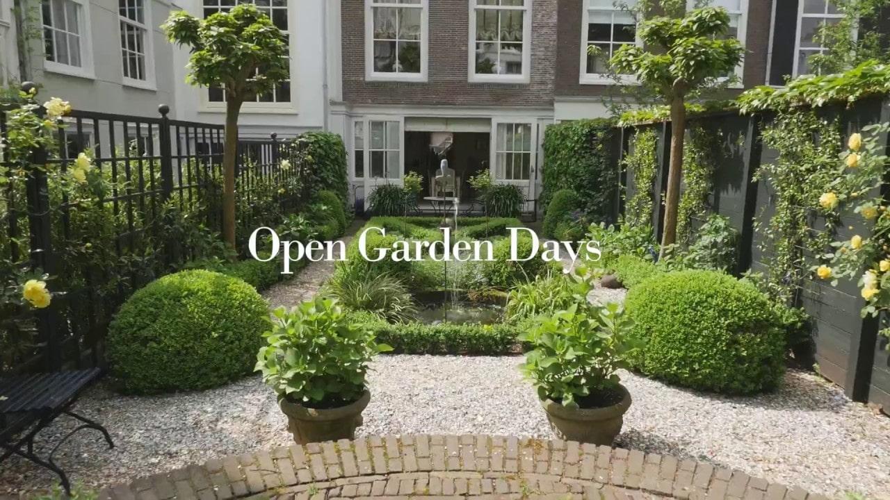 Vaderdag cadeau Amsterdam - Open Tuinen dagen