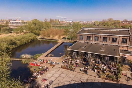 Westergasterras in Amsterdam West