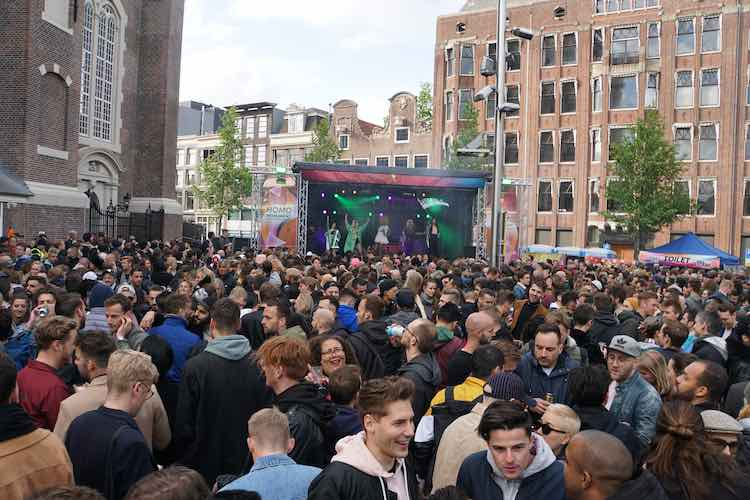 Pride Amsterdam 2019 Street Party Homomunument