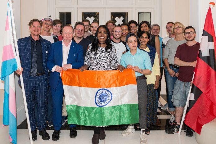 Kalki Subramaniam transgender activist en kunstenaar uit India wordt trotse ambassadeur van TransAmsterdam