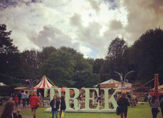Amstelpark komend weekend decor van Festival TREK