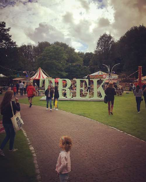 Amstelpark komend weekend decor van Festival TREK