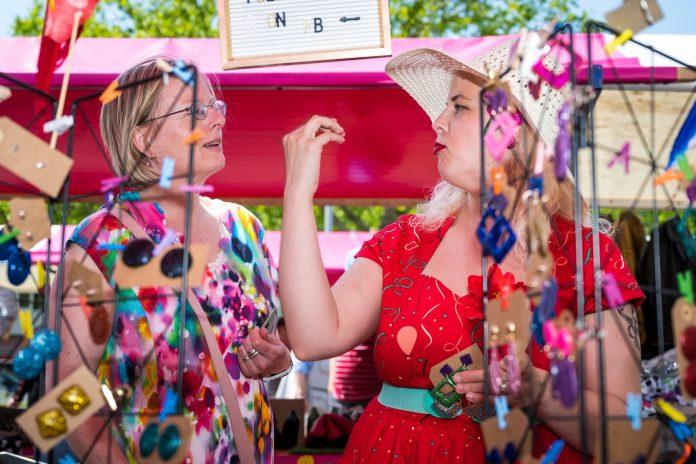 Leuke zomermarkt op Plein '40-'45