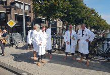 Organisatie Amsterdam City Swim adviseert wetsuite