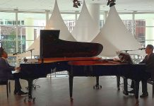 Drie keer in Het Concertgebouw: 'Around the World on Two Pianos'