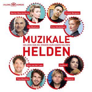 Theater: 'Muzikale Helden' bij De Kleine Komedie