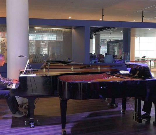 'Cubaanse en Arubaanse romantiek, mooie zaal, twee gedreven pianisten en prachtige vleugels'