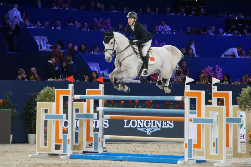 Jumping Amsterdam in volle gang