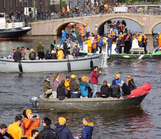 Koningsdag 2020 in Amsterdam (en Koningsnacht)
