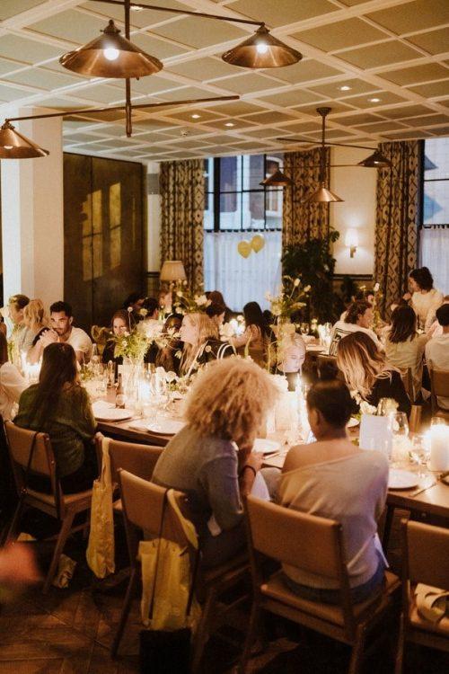 BUMBLE ORGANISEERT EEN INTERACTIEVE DINNER PARTY VOOR VALENTIJNSDAG