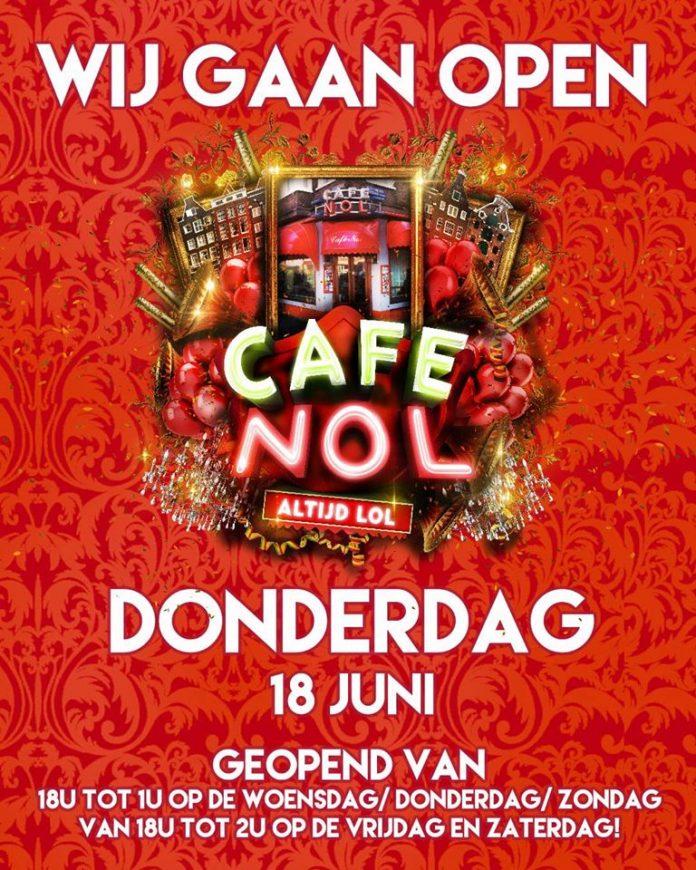 Leuk nieuws uit de Jordaan: 'Café Nol binnenkort weer LOL'